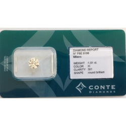 Conte Diamonds 1,01 ct H/SI1