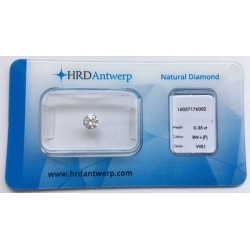 HRD 0,35 ct F/VVS1