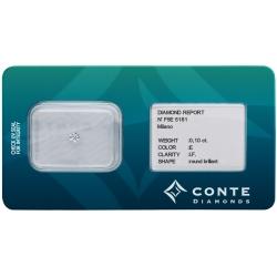 Conte Diamonds 0,10 ct E/IF