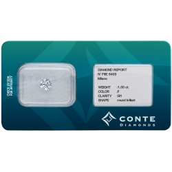 Conte Diamonds 1,00 ct F/SI1