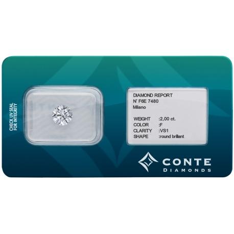 Conte Diamonds 2,00 ct D/VS1