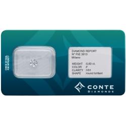 Conte Diamonds 0,60 ct F/VS1