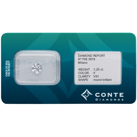 Conte Diamonds 1,20 ct F/VS1